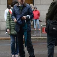 Foto Nicoloro G. 01/05/2016 Manifestazione con corteo per la ricorrenza del I° Maggio. nella foto il presidente del Consiglio Comunale Basilio Rizzo.