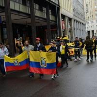 Foto Nicoloro G. 01/05/2016 Manifestazione con corteo per la ricorrenza del I° Maggio. nella foto manifestanti dell' Equador.