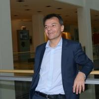Foto Nicoloro G. 17/02/2017 Rimini Si e' aperto il Congresso fondativo di Sinistra Italiana. nella foto l' economista e politico Stefano Fassina.