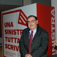 Foto Nicoloro G. 17/02/2017 Rimini Si e' aperto il Congresso fondativo di Sinistra Italiana. nella foto Fabio Mussi di Sinistra Ecologia Liberta'.