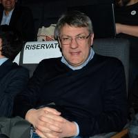 Foto Nicoloro G. 17/02/2017 Rimini Si e' aperto il Congresso fondativo di Sinistra Italiana. nella foto il segretario Fiom Maurizio Landini.