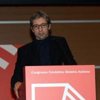 Foto Nicoloro G. 17/02/2017 Rimini Si e' aperto il Congresso fondativo di Sinistra Italiana. nella foto il sindaco di Rimini Andrea Gnassi.