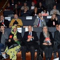 Foto Nicoloro G. 17/02/2017 Rimini Si e' aperto il Congresso fondativo di Sinistra Italiana. nella foto alcuni delegati stranieri.