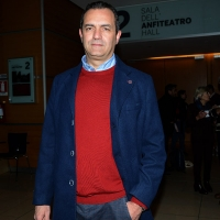 Foto Nicoloro G. 19/02/2017 Rimini Terza giornata conclusiva del Congresso fondativo di Sinistra Italiana. nella foto il sindaco di Napoli Luigi De Magistris.