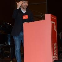Foto Nicoloro G. 19/02/2017 Rimini Terza giornata conclusiva del Congresso fondativo di Sinistra Italiana. nella foto Pippo Civati.