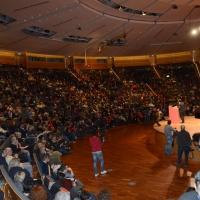 Foto Nicoloro G. 19/02/2017 Rimini Terza giornata conclusiva del Congresso fondativo di Sinistra Italiana. nella foto una panoramica del salone del Congresso.