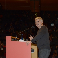 Foto Nicoloro G.  19/02/2017    Rimini   Terza giornata conclusiva del Congresso fondativo di Sinistra Italiana. nella foto Nichi Vendola.