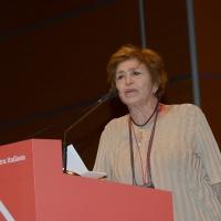 Foto Nicoloro G.  19/02/2017    Rimini   Terza giornata conclusiva del Congresso fondativo di Sinistra Italiana. nella foto Luciana Castellina.