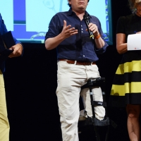 Foto Nicoloro G. 29/06/2016 Milano Quinta serata della diciassettesima edizione de ' La Milanesiana ' che quest' anno ha per titolo ' La Vanita' '. nella foto lo scrittore Edward Carey.