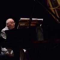 Foto Nicoloro G. 29/06/2016 Milano Quinta serata della diciassettesima edizione de ' La Milanesiana ' che quest' anno ha per titolo ' La Vanita' '. nella foto il pianista Antonio Ballista.