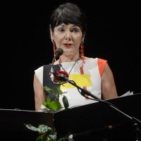 03/07/2017 Milano 18° edizione de ' La Milanesiana ' che quest' anno ha per tema ' Paura e Coraggio '. nella foto Elisabetta Sgarbi.