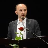 03/07/2017 Milano 18° edizione de ' La Milanesiana ' che quest' anno ha per tema ' Paura e Coraggio '. nella foto lo srittore Mauro Covacich.