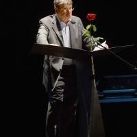 Foto Nicoloro G. Milano 26/06/2017 Con la presenza del ministro dei Beni Culturali si e' aperta ufficialmente la 18° edizione de ' La Milanesiana ' che quest' anno ha per tema ' Paura e Coraggio '. nella foto lo scrittore Claudio Magris.