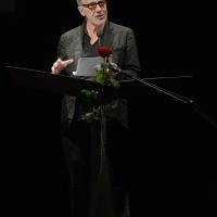 Foto Nicoloro G. 29-06-2017 Milano 18° edizione de ' La Milanesiana ' che quest' anno ha per tema ' Paura e Coraggio '. nella foto lo scrittore Michael Cunningham.