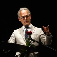 Foto Nicoloro G. 29-06-2017 Milano 18° edizione de ' La Milanesiana ' che quest' anno ha per tema ' Paura e Coraggio '. nella foto il romanziere Amor Towles.