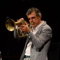 Foto Nicoloro G. 29-06-2017 Milano 18° edizione de ' La Milanesiana ' che quest' anno ha per tema ' Paura e Coraggio '. nella foto il trombettista Paolo Fresu.