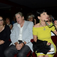 Foto Nicoloro G. 27/06/2017 Milano 18° edizione de ' La Milanesiana ' che quest' anno ha per tema ' Paura e Coraggio '. nella foto da sinistra gli scrittori Dana Spiotta, Patrick McGrath e Elisabetta Sgarbi.