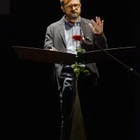 Foto Nicoloro G. 27/06/2017 Milano 18° edizione de ' La Milanesiana ' che quest' anno ha per tema ' Paura e Coraggio '. nella foto lo scrittore Paolo Giordano.