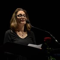Foto Nicoloro G. 27/06/2017 Milano 18° edizione de ' La Milanesiana ' che quest' anno ha per tema ' Paura e Coraggio '. nella foto la scrittrice Dana Spiotta.