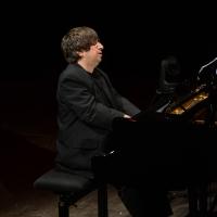 27/06/2017 Milano 18° edizione de ' La Milanesiana ' che quest' anno ha per tema ' Paura e Coraggio '. nella foto il pianista Ramin Bahrami.