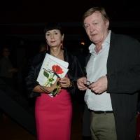 Foto Nicoloro G. 28/06/2018 Milano Edizione 2018 de ' La Milanesiana ' che ha per tema ' Il Dubbio e la Certezza '. nella foto Elisabetta Sgarbi e lo scrittore Jean Echenoz.