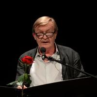 Foto Nicoloro G. 28/06/2018 Milano Edizione 2018 de ' La Milanesiana ' che ha per tema ' Il Dubbio e la Certezza '. nella foto lo scrittore Jean Echenoz.