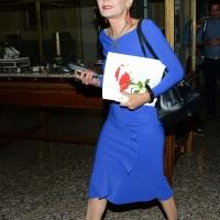 Foto Nicoloro G. 25/06/2018 Milano Edizione 2018 de ' La Milanesiana ' che ha per tema ' Il Dubbio e la Certezza '. nella foto Elisabetta Sgarbi; ideatrice e conduttrice dell' evento.