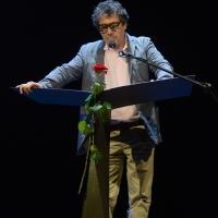 Foto Nicoloro G. 29/06/2018 Milano Edizione 2018 de ' La Milanesiana ' che ha per tema ' Il Dubbio e la Certezza '. nella foto lo scrittore Sandro Veronesi.