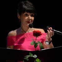 Foto Nicoloro G. 28/06/2016 Milano Quarta serata della diciassettesima edizione de ' La Milanesiana ' che quest' anno ha per titolo ' La Vanità '. nella foto Elisabetta Sgarbi.