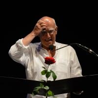 Foto Nicoloro G. 28/06/2016 Milano Quarta serata della diciassettesima edizione de ' La Milanesiana ' che quest' anno ha per titolo ' La Vanità '. nella foto il regista ungherese Peter Gàrdos.