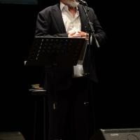 Foto Nicoloro G. 28/06/2016 Milano Quarta serata della diciassettesima edizione de ' La Milanesiana ' che quest' anno ha per titolo ' La Vanità '. nella foto l' attore, scrittore, musicista Moni Ovadia.