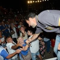 04/08/2018 Cervia ( Ravenna ) Festa della Lega Romagna. nella foto il ministro Matteo Salvini.
