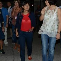 Foto Nicoloro G. 12/09/2016 Ravenna Serata conclusiva della Festa dell' Unita' del PD. nella foto Debora Serracchiani al suo arrivo alla Festa.
