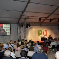 Foto Nicoloro G. 12/09/2016 Ravenna Serata conclusiva della Festa dell' Unita' del PD. nella foto Debora Serracchiani durante il suo intervento.