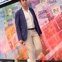Foto Nicoloro G. 09/09/2018 Ravenna Serata di chiusura della Festa Nazionale de l' Unita'. nella foto Alberto Pandolfo, consigliere comunale a Genova.