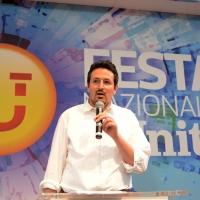 Foto Nicoloro G. 09/09/2018 Ravenna Serata di chiusura della Festa Nazionale de l' Unita'. nella foto Alessandro Barattoni, segretario provinciale del PD.