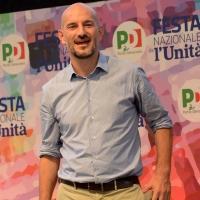 Foto Nicoloro G. 09/09/2018 Ravenna Serata di chiusura della Festa Nazionale de l' Unita'. nella foto Paolo Calvano, segretario regionale Emilia-Romagna del PD.
