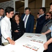 Foto Nicoloro G. 04/09/2018 Ravenna Festa Nazionale de l' Unita'. nella foto la presidente del Senato Maria Elisabetta Alberti Casellati visita uno stand di volontari.