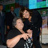 Foto Nicoloro G.   04/09/2018   Ravenna   Festa Nazionale de l' Unita'. nella foto la presidente del Senato   Maria Elisabetta Alberti Casellati in un selfie di rito.