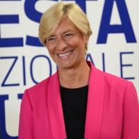 Foto Nicoloro G. 01/09/2018 Ravenna Continua la Festa Nazionale de l' Unita'. nella foto l' ex ministra Roberta Pinotti.