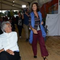 01/09/2018 Ravenna Continua la Festa Nazionale de l' Unita'. nella foto l' ex presidente della Camera Laura Boldrini.