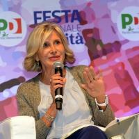 Foto Nicoloro G. 01/09/2018 Ravenna Continua la Festa Nazionale de l' Unita'. nella foto Barbara Pollastrini, vicepresidente del PD.