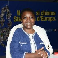 Foto Nicoloro G. 01/09/2018 Ravenna Continua la Festa Nazionale de l' Unita'. nella foto l' europarlamentare del PD Cecile Kyenge.