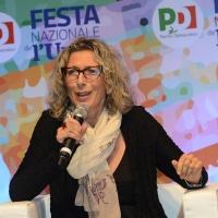 Foto Nicoloro G.   01/09/2018   Ravenna  Continua la Festa Nazionale de l' Unita'. nella foto Anna Rossomando, vicepresidente del Senato.