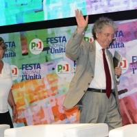 Foto Nicoloro G. 31/08/2018 Ravenna Festa Nazionale del PD. nella foto Susanna Camusso ed Enrico Morando.