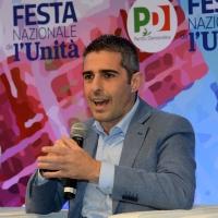 Foto Nicoloro G. 08/09/2018 Ravenna Festa Nazionale de l' Unita'. nella foto il sindaco di Parma Federico Pizzarotti.