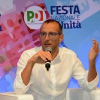 Foto Nicoloro G. 08/09/2018 Ravenna Festa Nazionale de l' Unita'. nella foto il sindaco di Pesaro Matteo Ricci.