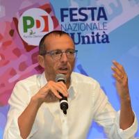 Foto Nicoloro G. 08/09/2018 Ravenna Festa Nazionale de l' Unita'. nella foto Matteo Ricci, sindaco di Pesaro.