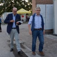 Foto Nicoloro G.   08/09/2018   Ravenna    Festa Nazionale de l' Unita'. nella foto Pier Luigi Bersani, a sinistra, e Vasco Errani.