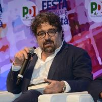 Foto Nicoloro G.   08/09/2018   Ravenna    Festa Nazionale de l' Unita'. nella foto il giornalista Alessandro Barbera.